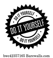563 clean yourself posters and art prints barewalls clean yourself art print poster do it yourself stamp solutioingenieria Choice Image