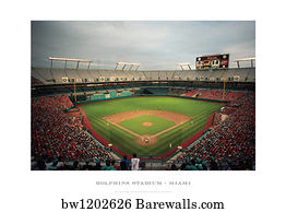 200 miami dolphins posters and art prints barewalls miami dolphins art print poster dolphins stadium miami voltagebd Choice Image