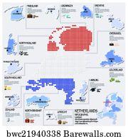 on dutch republic map