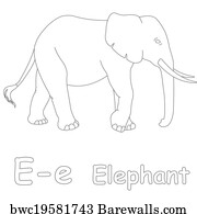 237 E is for elephant Posters and Art Prints | Barewalls