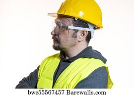 67 general foreman posters and art prints barewalls general foreman art print poster engineer do it yourself man dressed in yellow builder solutioingenieria Image collections