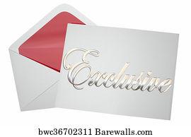 13269 formal invitation posters and art prints barewalls formal invitation art print poster exclusive event invitation envelope word 3d illustration stopboris Choice Image