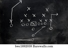 football xs and os_bwc1692038 3,782 sports diagrams posters and art prints barewalls