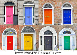 Door Doors Of Dublin Art Print Poster - Georgian Doors In Dublin & 255 Door doors of dublin Posters and Art Prints | Barewalls pezcame.com