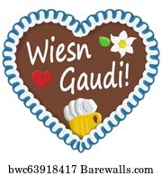797 German Gingerbread Hearts Posters And Art Prints Barewalls