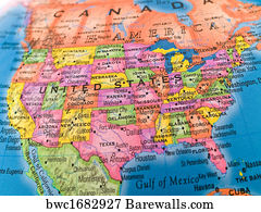 6,205 Central america map Posters and Art Prints   Barewalls