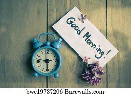 29036 Good Morning Posters And Art Prints Barewalls