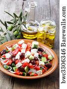Greek Salad Art Print Barewalls Posters Amp Prints