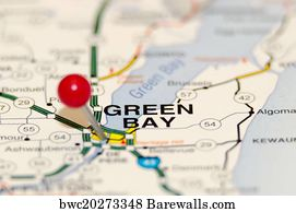 Green Bay Packers Map