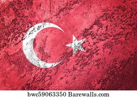 Turkey Wallpaper Art Print Poster