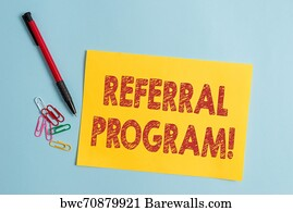 1,580 Referral program Posters and Art Prints | Barewalls