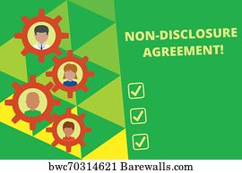 213 Non Disclosure Agreement Posters And Art Prints Barewalls