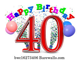 559 40th birthday posters and art prints barewalls