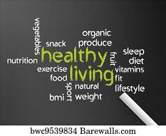 Healthy Living Art Print Barewalls Posters Prints Bwc9539834