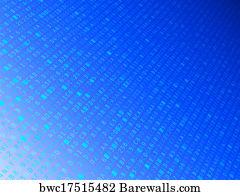 Art print of fading hexadecimal background barewalls posters art print poster hexadecimal code background malvernweather Choice Image