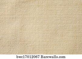 Unbleached Linen Art Print Poster