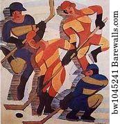Hockey Art Print Poster