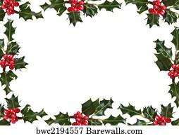 12 939 holly border posters and art prints barewalls