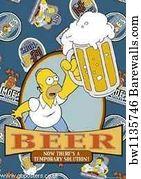 THE SIIMPSONS TV Show PHOTO Print POSTER Series Art Matt Groening Homer Bart 001