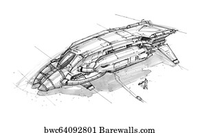 4 425 Alien Spacecraft Design Posters And Art Prints Barewalls