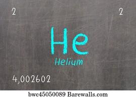 240 helium atom posters and art prints barewalls helium atom art print poster isolated blackboard with periodic table helium urtaz Images