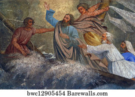 16 storm on the sea of galilee posters and art prints barewalls storm on the sea of galilee art print poster jesus calms a storm on the publicscrutiny Choice Image