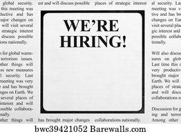 8,082 Job ad Posters and Art Prints | Barewalls