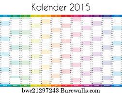 kalender von 2015