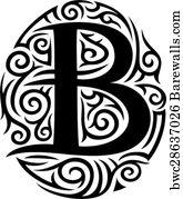 1 479 Tattoo Alphabet Posters And Art Prints Barewalls
