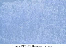 Art Print Of Light Blue Fabric Texture Background