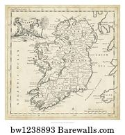Map Of Ireland Poster.5 732 Map Ireland Posters And Art Prints Barewalls
