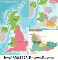 Map Of England 850.38 Map Of Sussex Posters And Art Prints Barewalls
