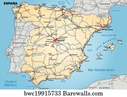 Barakaldo Posters And Art Prints Barewalls - Barakaldo map