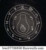 Masonic Lodge Art Print Poster