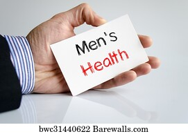 Mens Health Issues Art Print Poster