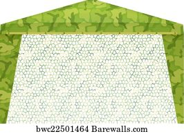 Pop Up Gazebo Art Print Poster - Military Tent On A White Background. Vector Illustration  sc 1 st  Barewalls & 49 Pop up gazebo Posters and Art Prints | Barewalls