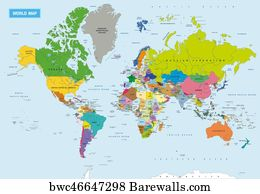 924 detailed political world map with capitals posters and art detailed political world map with capitals art print poster new detailed political world map gumiabroncs Gallery