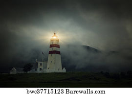 5,524 Lighthouse night Posters and Art Prints   Barewalls