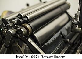 3,934 Old printing press Posters and Art Prints   Barewalls