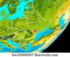 1,951 Map of moldova Posters and Art Prints | Barewalls