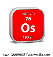 72 osmium element periodic table posters and art prints barewalls osmium element periodic table art print poster osmium material sign urtaz Choice Image
