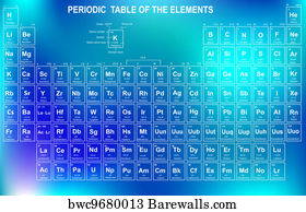 9077 periodic table posters and art prints barewalls periodic table art print poster periodic table of the elements with urtaz Choice Image