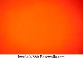 art print of plain orange background barewalls posters prints