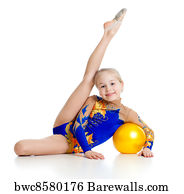 Remarkable, very Young teen girl gymnastics once and