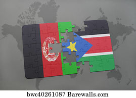 793 map of south sudan posters and art prints barewalls map of south sudan art print poster puzzle with the national flag of afghanistan and gumiabroncs Gallery