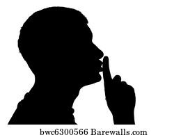 art print of quiet please barewalls posters prints bwc6300566