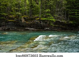 Glacier National Park Montana #4 McDonald Creek Photo Poster Print
