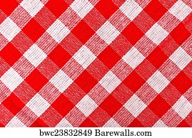 Incroyable Red And White Checkered Tablecloth