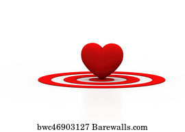 715 heart shaped target posters and art prints barewalls heart shaped target art print poster red heart sign on the target sign thecheapjerseys Images