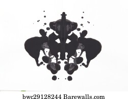 606 rorschach posters and art prints barewalls
